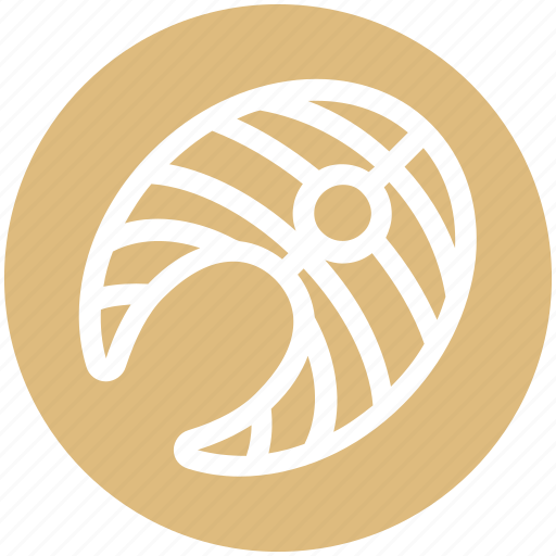 Fish, food, nutrition, salmon steak, seafood icon - Download on Iconfinder