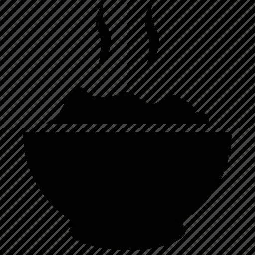 bowl, food, food bowl, hot food, hot rice icon