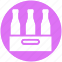 beer, beer bottles, drinking, drinks, wine, wine bottles, wine pallet icon