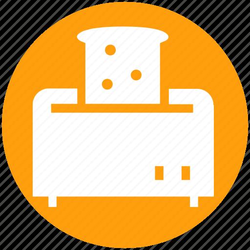 Kitchen appliance, kitchen electrical, toast, toast machine, toaster icon - Download on Iconfinder