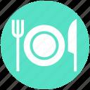 eating, flatware, fork, knife, plate, tableware, utensil