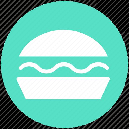 Burger, cheeseburger, eating, fast food, food, hamburger, snack icon - Download on Iconfinder