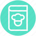 book, chef book, cook, kitchen, recipe, recipe book icon