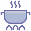boil, camping, cooker, cooking, hot, kitchen, pot, rice icon