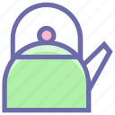 boil, kettle, kitchen, tea, tools, utensils, water icon
