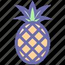 ananas, food, fruit, juice, pineapple, pineapple juice, sweet, tropical icon