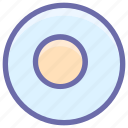 breakfast, egg, fried, omelet, scramble egg icon