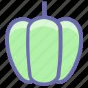 bell pepper, bulgarian, food, pepper, salad, sweet, vegetable icon