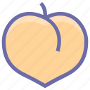 apricot, food, fruit, juicy, organic, plum, prune icon