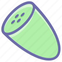 chopped, cooking, cucumber, food, salad, vegetable, veggie icon