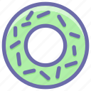 biscuits, breakfast, cookies, donut, eating, food, sweets icon