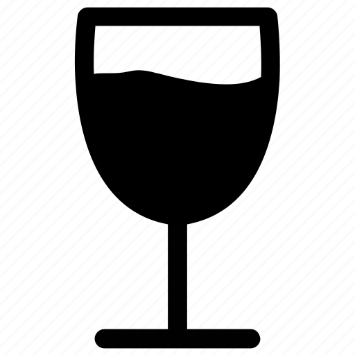 alcohol, beverage, drink, glass, soda glass icon