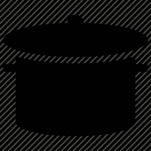 casserole, casserole dish, cooking pot, hot pot, saucepan icon