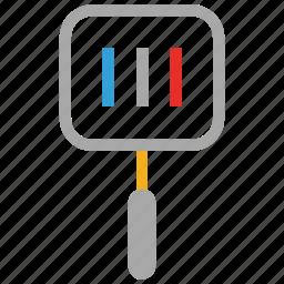 slotted spatula, spatula, turner, turning spatula icon