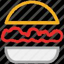 burger, fast food, food, junk food