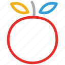 citrus, fresh fruit, fruit, orange icon