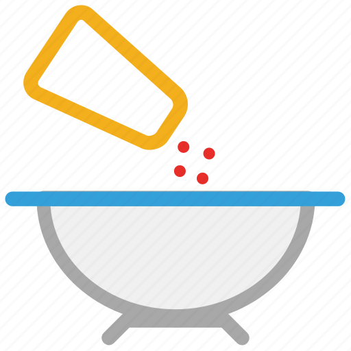 delicious food, food, salt shaker, spicy food icon