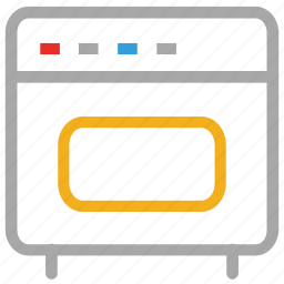 cooking range, microwave oven, oven, range icon