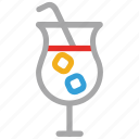 cold drink, drink, summer drink, summer juice icon