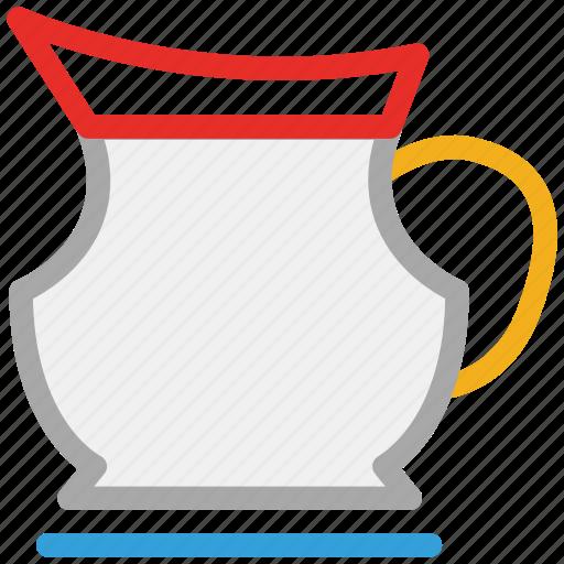 jug, jug of milk, jug of water, kitchen tool icon