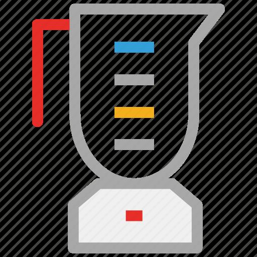 blender, kitchen accessory, milkshake jug, mixer icon