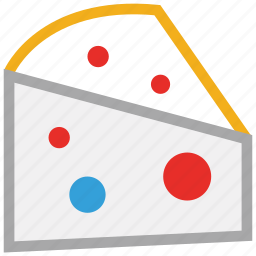 cheese, food, piece of cheese, portion of cheese icon