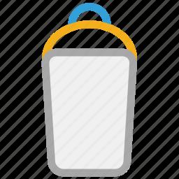bottle, milk, plastic bottle, water icon