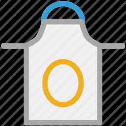 apron, bib apron, cooking apron, kitchen apron icon