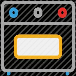 cooking range, oven, range, stove icon