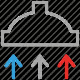 chimney, exhaust hood, hood, kitchen icon