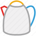 hotpot, kitchen utensil, teapot, thermos icon