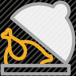 chicken, chicken roast, roasted chicken, turkey food icon