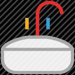 kitchen, sink, wash, water icon