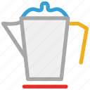 electric kettle, kettle, teakettle, teapot icon
