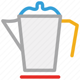 electric kettle, kettle, teakettle, teapot icon
