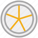 citrus, citrus half, citrus slice, fruit icon