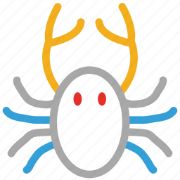 crab, food, seafood icon