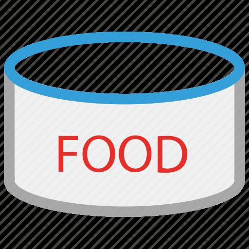 canned food, food, food tin, tin of food icon