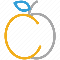 apple, fresh fruit, fruit, health icon