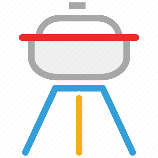 cooking pot, hotpot, hotpot on stove, saucepan icon
