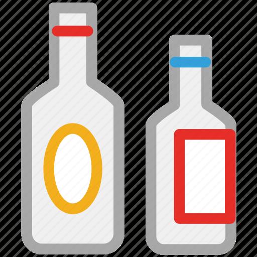 alcohol, beverage, bottles, wine icon