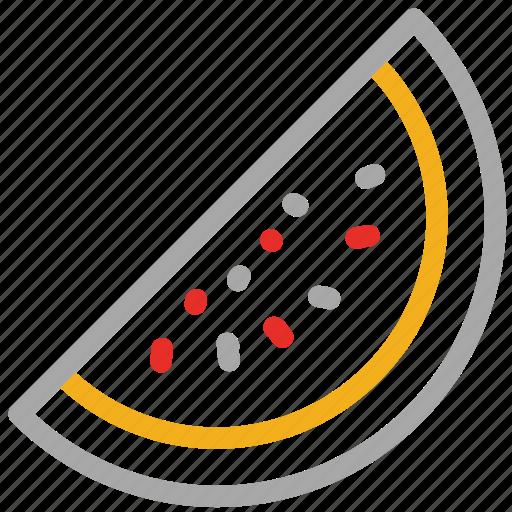 food, fruit, healthy food, watermelon icon