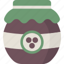 jam, jelly, preserves icon