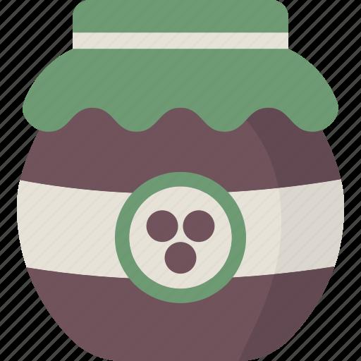 jam, jelly, preserves icon