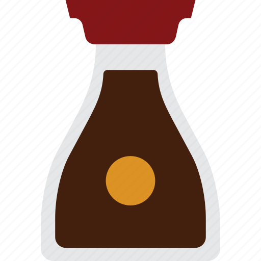 asian, condiment, oriental, sauce, soy, soy sauce icon