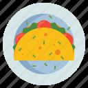 egg, omelette, white icon