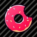 bakery, cake, cream, dessert, donut, doughnut, pastry icon