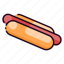 cafe, fast food, food, hot dogs, hotdog, meal, restaurant icon
