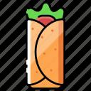 beef, food, kebab, meal, turkey, turkish food, vegetable icon
