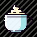 cafe, caffeine, cappucino, coffe latte, cup, drinks, espresso icon